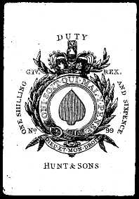 Ace of spades for Hunt and Sons
